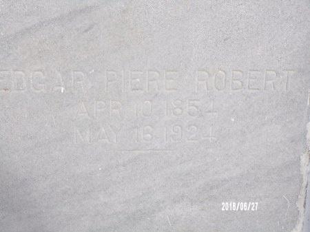 ROBERT, EDGAR PIERE - St. Tammany County, Louisiana   EDGAR PIERE ROBERT - Louisiana Gravestone Photos