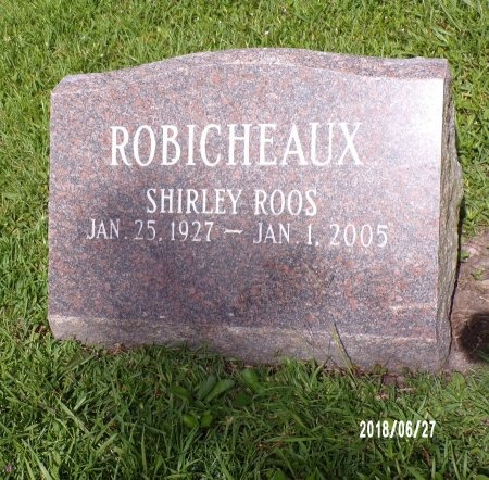 ROBICHEAUX, SHIRLEY - St. Tammany County, Louisiana | SHIRLEY ROBICHEAUX - Louisiana Gravestone Photos