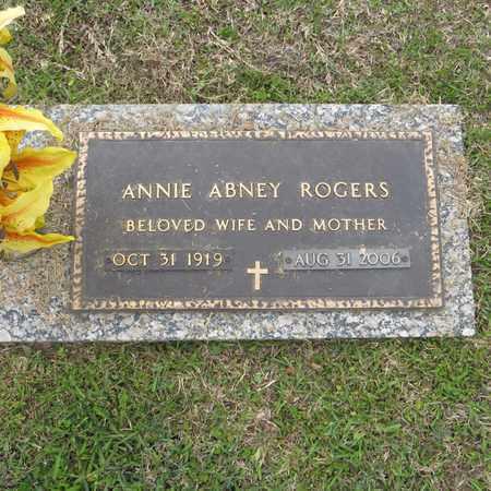 ROGERS, ANNIE - St. Tammany County, Louisiana | ANNIE ROGERS - Louisiana Gravestone Photos