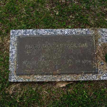 ROGERS, HUGH DORSEY  (VETERAN WWII) - St. Tammany County, Louisiana | HUGH DORSEY  (VETERAN WWII) ROGERS - Louisiana Gravestone Photos
