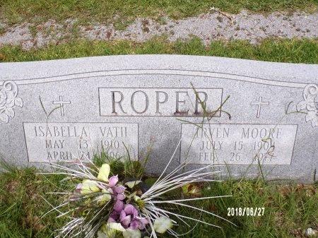 ROPER, IRVEN MOORE - St. Tammany County, Louisiana | IRVEN MOORE ROPER - Louisiana Gravestone Photos