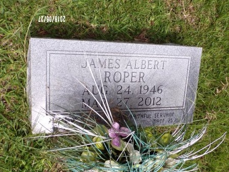 ROPER, JAMES ALBERT - St. Tammany County, Louisiana | JAMES ALBERT ROPER - Louisiana Gravestone Photos
