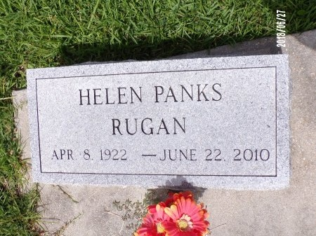 PANKS RUGAN, HELEN - St. Tammany County, Louisiana | HELEN PANKS RUGAN - Louisiana Gravestone Photos