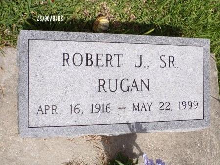 RUGAN, ROBERT J., SR - St. Tammany County, Louisiana   ROBERT J., SR RUGAN - Louisiana Gravestone Photos