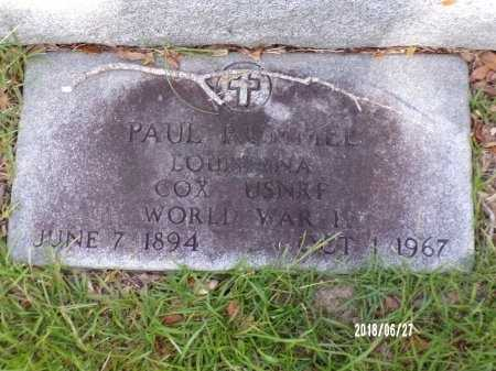 RUMMEL, PAUL PETER (VETERAN WWI) - St. Tammany County, Louisiana | PAUL PETER (VETERAN WWI) RUMMEL - Louisiana Gravestone Photos
