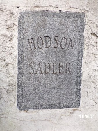 SADLER, HODSON (CLOSE UP) - St. Tammany County, Louisiana | HODSON (CLOSE UP) SADLER - Louisiana Gravestone Photos