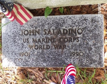 SALADINO, JOHN  (VETERAN WWI) - St. Tammany County, Louisiana | JOHN  (VETERAN WWI) SALADINO - Louisiana Gravestone Photos