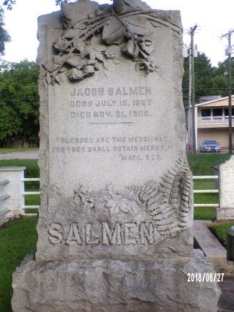 SALMEN, JACOB - St. Tammany County, Louisiana | JACOB SALMEN - Louisiana Gravestone Photos