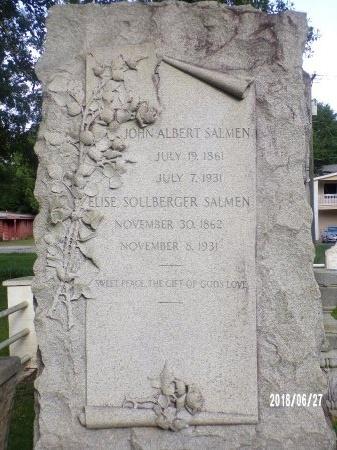 SALMEN, JOHN ALBERT - St. Tammany County, Louisiana | JOHN ALBERT SALMEN - Louisiana Gravestone Photos