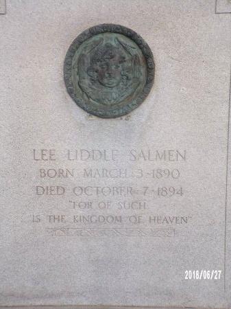 SALMEN, LEE LIDDLE (CLOSE UP) - St. Tammany County, Louisiana   LEE LIDDLE (CLOSE UP) SALMEN - Louisiana Gravestone Photos