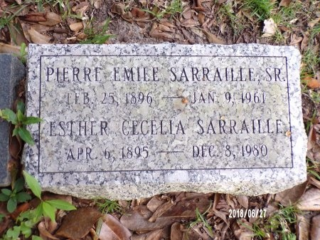SARRAILLE, PIERRE EMILE, SR - St. Tammany County, Louisiana | PIERRE EMILE, SR SARRAILLE - Louisiana Gravestone Photos