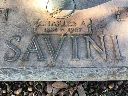 SAVINI, CHARLES ALEXANDRE  (CLOSEUP) - St. Tammany County, Louisiana | CHARLES ALEXANDRE  (CLOSEUP) SAVINI - Louisiana Gravestone Photos