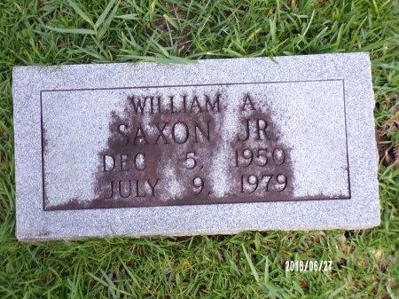 SAXON, WILLIAM A., JR - St. Tammany County, Louisiana   WILLIAM A., JR SAXON - Louisiana Gravestone Photos