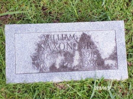 SAXON, WILLIAM A., SR - St. Tammany County, Louisiana | WILLIAM A., SR SAXON - Louisiana Gravestone Photos