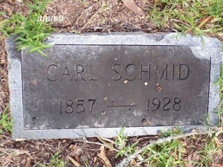 SCHMID, CARL - St. Tammany County, Louisiana   CARL SCHMID - Louisiana Gravestone Photos