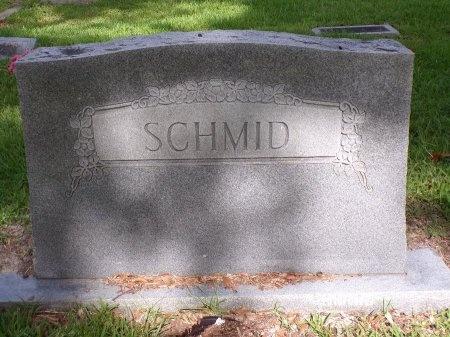 SCHMID, MEMORIAL - St. Tammany County, Louisiana | MEMORIAL SCHMID - Louisiana Gravestone Photos
