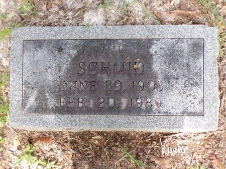 SCHMID, SOPHIE C - St. Tammany County, Louisiana   SOPHIE C SCHMID - Louisiana Gravestone Photos