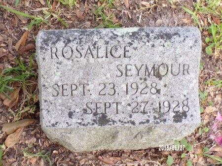 SEYMOUR, ROSALICE - St. Tammany County, Louisiana | ROSALICE SEYMOUR - Louisiana Gravestone Photos