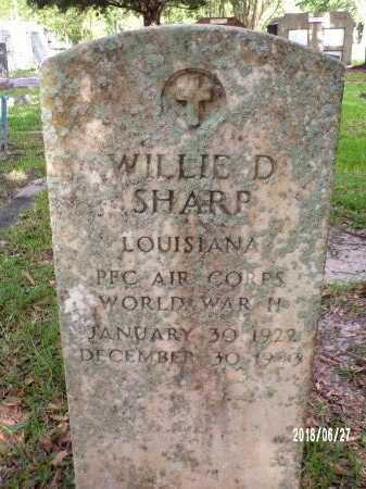 SHARP, WILLIE DONICE (VETERAN WWII KIA) - St. Tammany County, Louisiana   WILLIE DONICE (VETERAN WWII KIA) SHARP - Louisiana Gravestone Photos