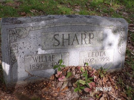 SHARP, WILLIE J - St. Tammany County, Louisiana | WILLIE J SHARP - Louisiana Gravestone Photos