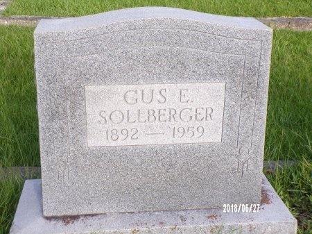 "SOLLBERGER, GUSTAVE EDWARD ""GUS"" - St. Tammany County, Louisiana | GUSTAVE EDWARD ""GUS"" SOLLBERGER - Louisiana Gravestone Photos"