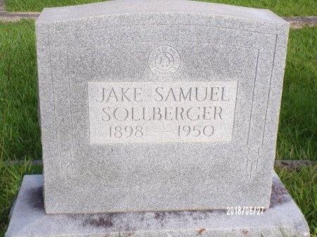 "SOLLBERGER, JACOB SAMUEL ""JAKE"" - St. Tammany County, Louisiana | JACOB SAMUEL ""JAKE"" SOLLBERGER - Louisiana Gravestone Photos"