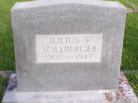 SOLLBERGER, JULIUS VERNON - St. Tammany County, Louisiana   JULIUS VERNON SOLLBERGER - Louisiana Gravestone Photos