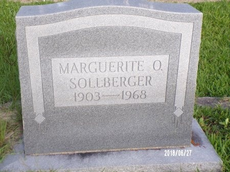 SOLLBERGER, MARGUERITE OLGA - St. Tammany County, Louisiana | MARGUERITE OLGA SOLLBERGER - Louisiana Gravestone Photos