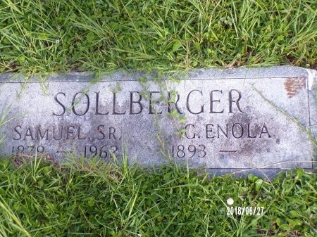 SOLLBERGER, GUSTAVE ENOLA - St. Tammany County, Louisiana | GUSTAVE ENOLA SOLLBERGER - Louisiana Gravestone Photos