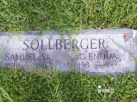 SOLLBERGER, SAMUEL, SR - St. Tammany County, Louisiana | SAMUEL, SR SOLLBERGER - Louisiana Gravestone Photos