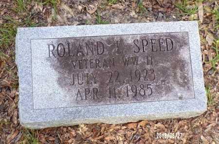 SPEED  , ROLAND LAURENCE  (VETERAN WWII) - St. Tammany County, Louisiana   ROLAND LAURENCE  (VETERAN WWII) SPEED   - Louisiana Gravestone Photos
