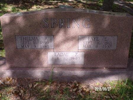 SPRING, FAYE E - St. Tammany County, Louisiana   FAYE E SPRING - Louisiana Gravestone Photos