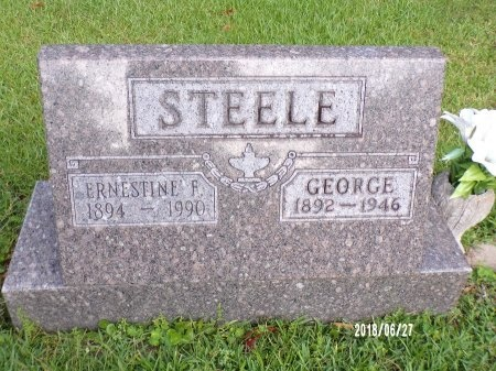 STEELE, GEORGE - St. Tammany County, Louisiana | GEORGE STEELE - Louisiana Gravestone Photos