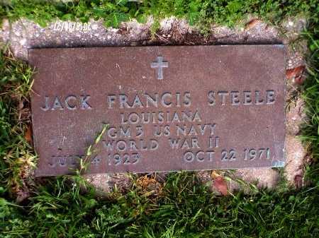 STEELE, JACK FRANCIS (VETERAN WWII) - St. Tammany County, Louisiana   JACK FRANCIS (VETERAN WWII) STEELE - Louisiana Gravestone Photos