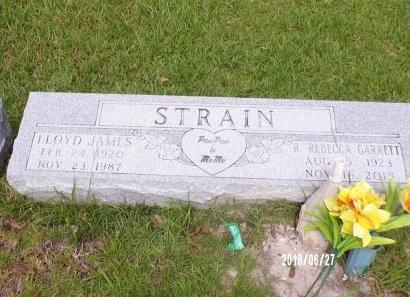 STRAIN, R REBECCA - St. Tammany County, Louisiana | R REBECCA STRAIN - Louisiana Gravestone Photos