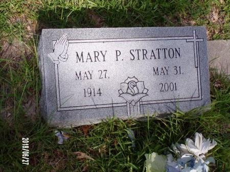 STRATTON, MARY P - St. Tammany County, Louisiana | MARY P STRATTON - Louisiana Gravestone Photos
