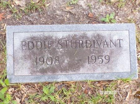 STURDIVANT, EDDIE - St. Tammany County, Louisiana | EDDIE STURDIVANT - Louisiana Gravestone Photos
