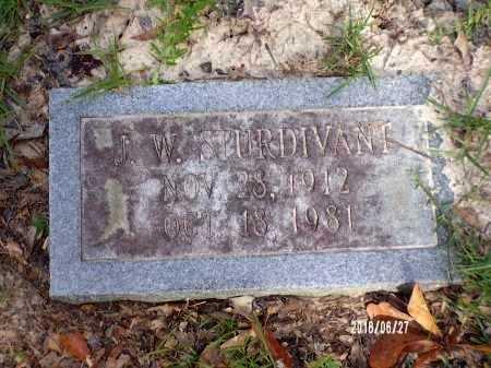 STURDIVANT, JAY W - St. Tammany County, Louisiana | JAY W STURDIVANT - Louisiana Gravestone Photos