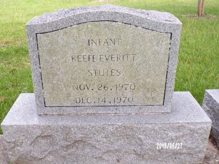 STUTES, KEEFE EVERITT - St. Tammany County, Louisiana | KEEFE EVERITT STUTES - Louisiana Gravestone Photos