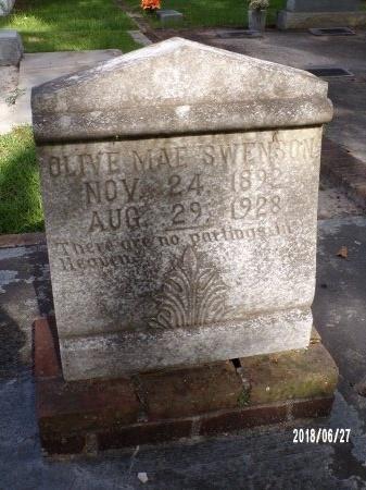 SWENSON, OLIVE MAE - St. Tammany County, Louisiana   OLIVE MAE SWENSON - Louisiana Gravestone Photos