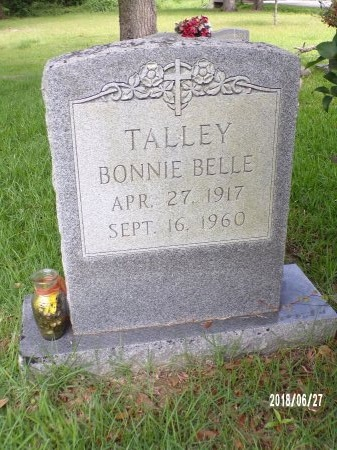 MITCHELL TALLEY, BONNIE BELLE - St. Tammany County, Louisiana   BONNIE BELLE MITCHELL TALLEY - Louisiana Gravestone Photos