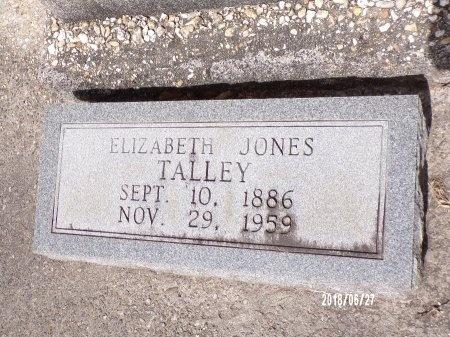 TALLEY, ELIZABETH - St. Tammany County, Louisiana   ELIZABETH TALLEY - Louisiana Gravestone Photos