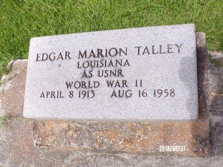 TALLEY, EDGAR MARION (VETERAN WWII) - St. Tammany County, Louisiana | EDGAR MARION (VETERAN WWII) TALLEY - Louisiana Gravestone Photos