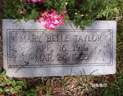 TAYLOR, MARY BELLE - St. Tammany County, Louisiana | MARY BELLE TAYLOR - Louisiana Gravestone Photos