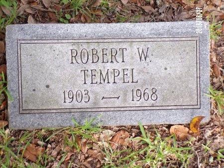 TEMPEL, ROBERT WICKLIFFE - St. Tammany County, Louisiana   ROBERT WICKLIFFE TEMPEL - Louisiana Gravestone Photos