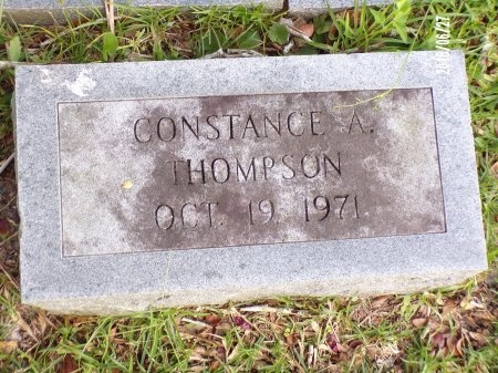 THOMPSON, CONSTANCE A - St. Tammany County, Louisiana | CONSTANCE A THOMPSON - Louisiana Gravestone Photos