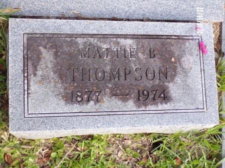 "THOMPSON, MARTHA FRANCES ""MATTIE"" - St. Tammany County, Louisiana | MARTHA FRANCES ""MATTIE"" THOMPSON - Louisiana Gravestone Photos"