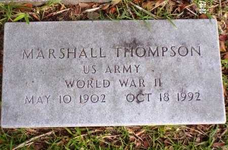 THOMPSON  , MARSHALL (VETERAN WWII) - St. Tammany County, Louisiana   MARSHALL (VETERAN WWII) THOMPSON   - Louisiana Gravestone Photos