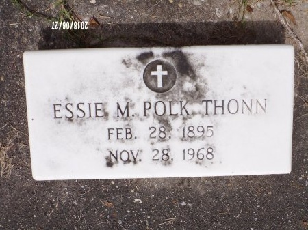 THONN, ESSIE M - St. Tammany County, Louisiana | ESSIE M THONN - Louisiana Gravestone Photos
