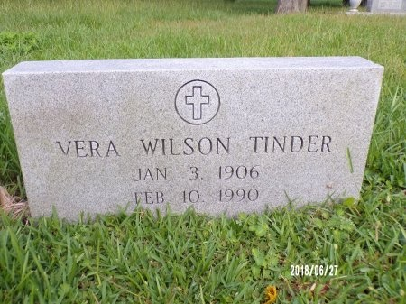 TINDER, VERA - St. Tammany County, Louisiana | VERA TINDER - Louisiana Gravestone Photos